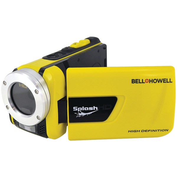BELL+HOWELL WV30HD-Y 16.0-Megapixel 1080p SplashHD Waterproof Digital Video Camcorder