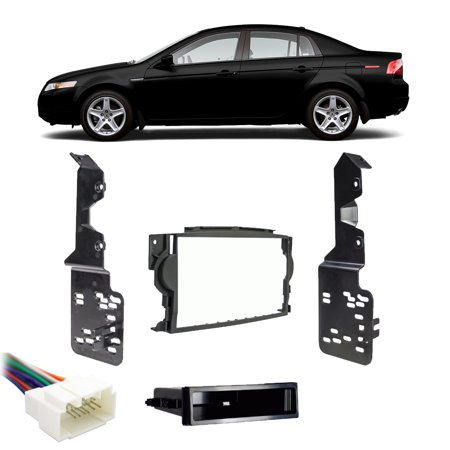 Acura TL 2004-2006 Single DIN Stereo Harness Radio Install Dash Kit Package New