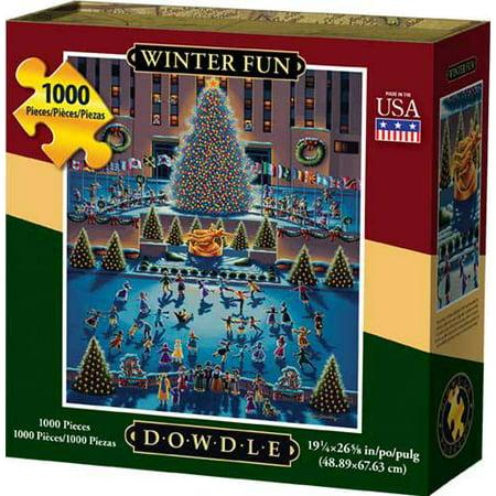 Dowdle Jigsaw Puzzle - Winter Fun - 1000 Piece](Winter Puzzles)