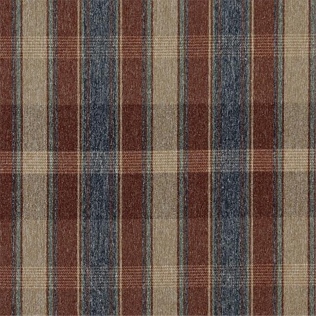 Designer Fabrics C644 54 in. Wide Rustic Red, Blue, Green And Beige, Large Plaid Country Style Upholstery Fabric