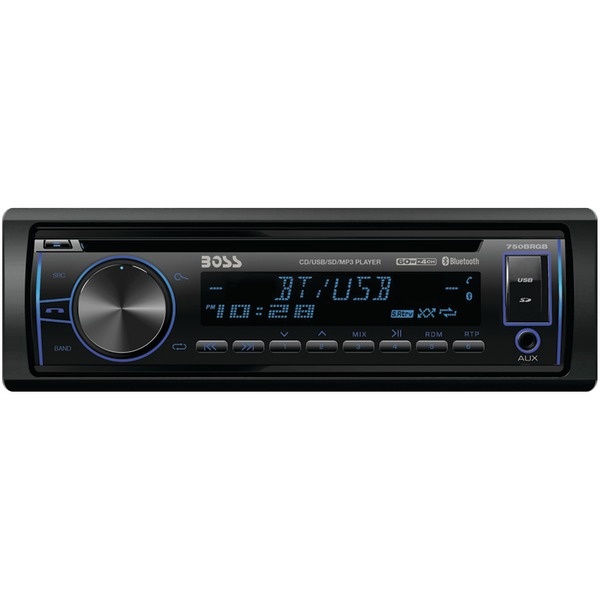 Brand New BOSS AUDIO 750BRGB Single-DIN In-Dash CD AM/FM/MP3 Receiver