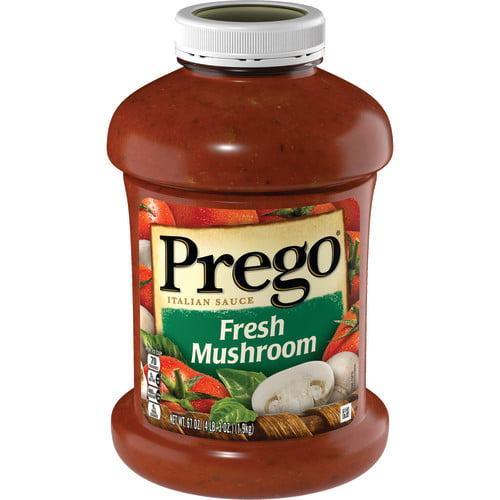 Prego Fresh Mushroom Italian Sauce, 67 oz.