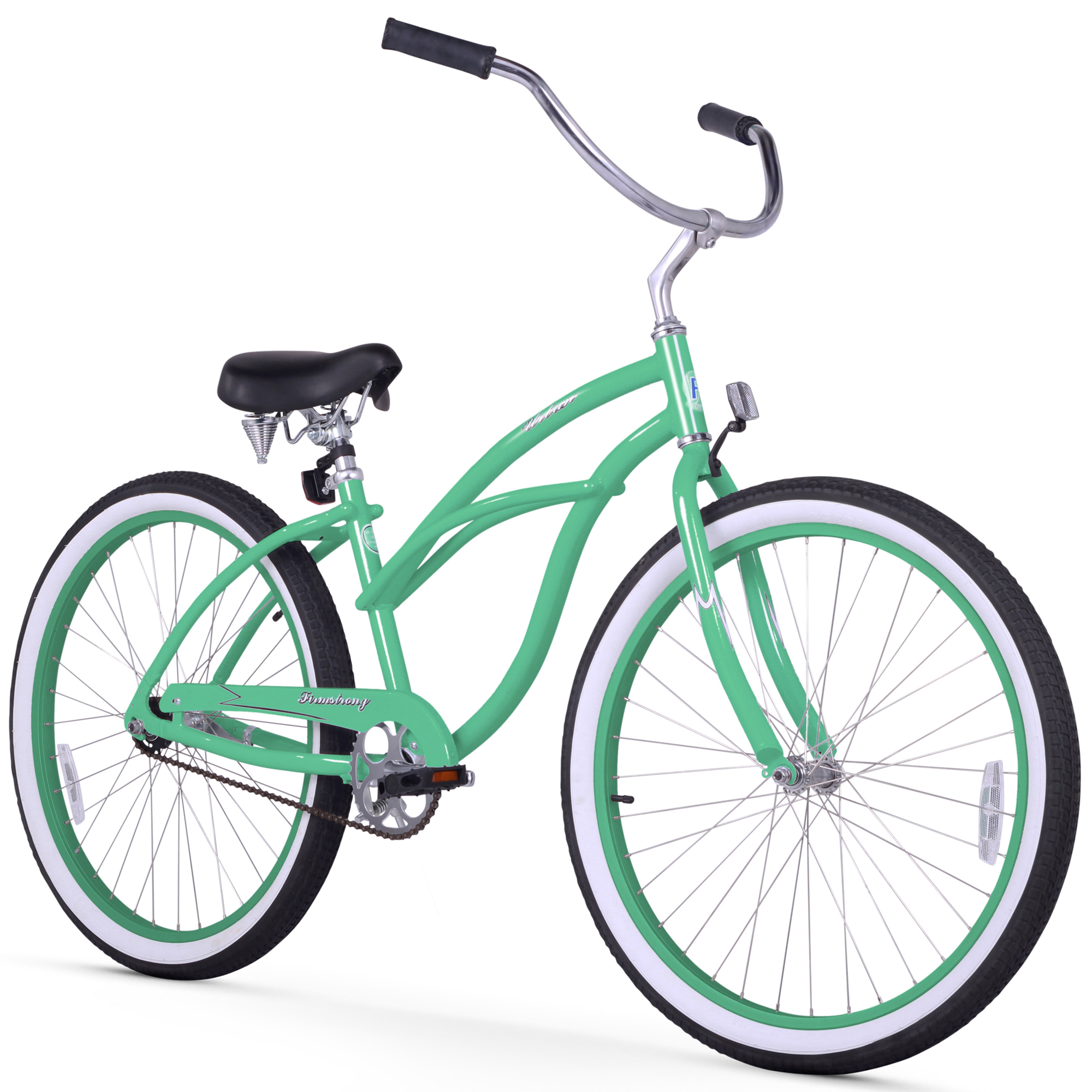 "Firmstrong Urban Lady Alloy 26"" Single Speed Beach Cruiser Bicycle"