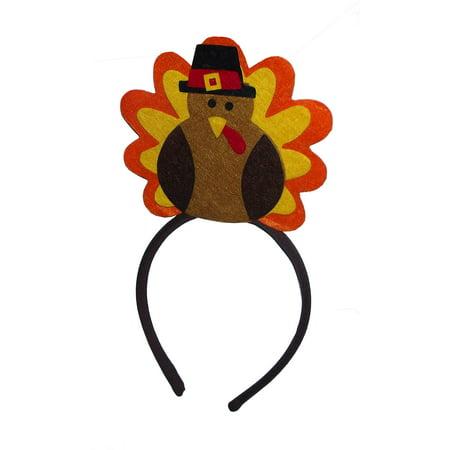 Turkey Headband (AMSCAN TURKEY-HEADBAND)