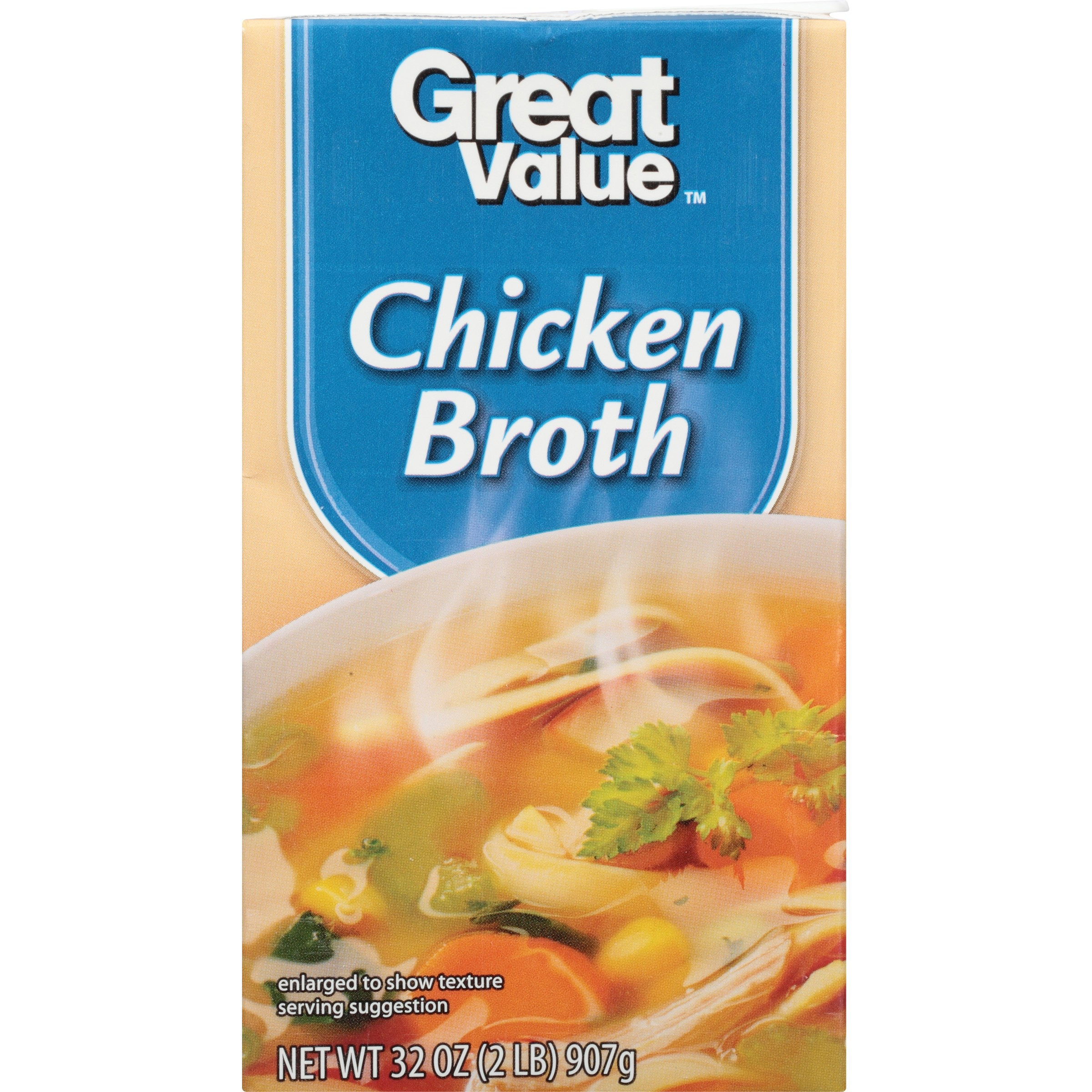 Click here to buy Great Value Chicken Broth, 32 oz by Wal-Mart Stores, Inc..