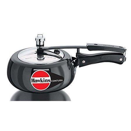 Hawkins Contura Hard Anodised Pressure Cooker  2 0 Litre