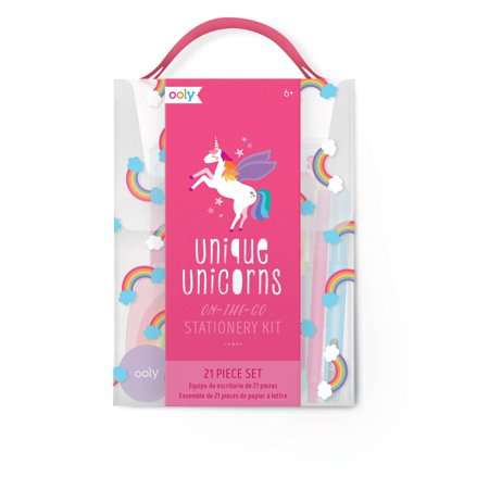 Unique Unicorns Stationery Kit (Informal Note Card Stationery)