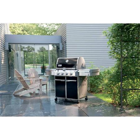 weber summit e 420 lp gas grill black best gas grills. Black Bedroom Furniture Sets. Home Design Ideas
