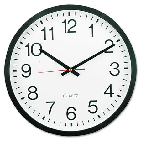New Orleans Saints Round Clock (Universal Round Wall Clock, 12 5/8