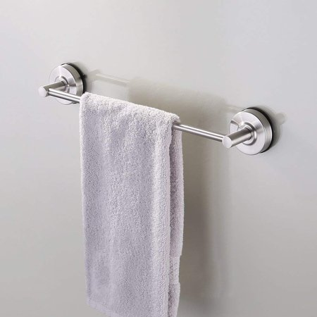 Kes Suction Cup Single Towel Bar Sus 304 Stainless Steel