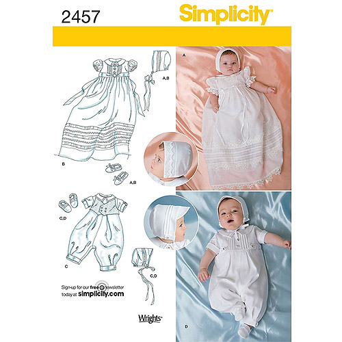 Simplicity Babies Special Occasion, XXS, XS, S, M