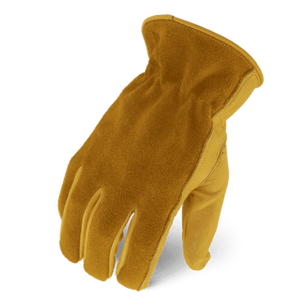 Ironclad Workhorse Leather Driver Work Gloves; Genuine Leather Leather Driver Work Gloves