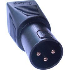 TecNec DMX-3XM-CAT5 3-pin XLR Male to RJ45 Adapter-by-TecNec, XLRJ45 is an adapter to convert a DMX512 XLR connector to a RJ45 connector By Sescom