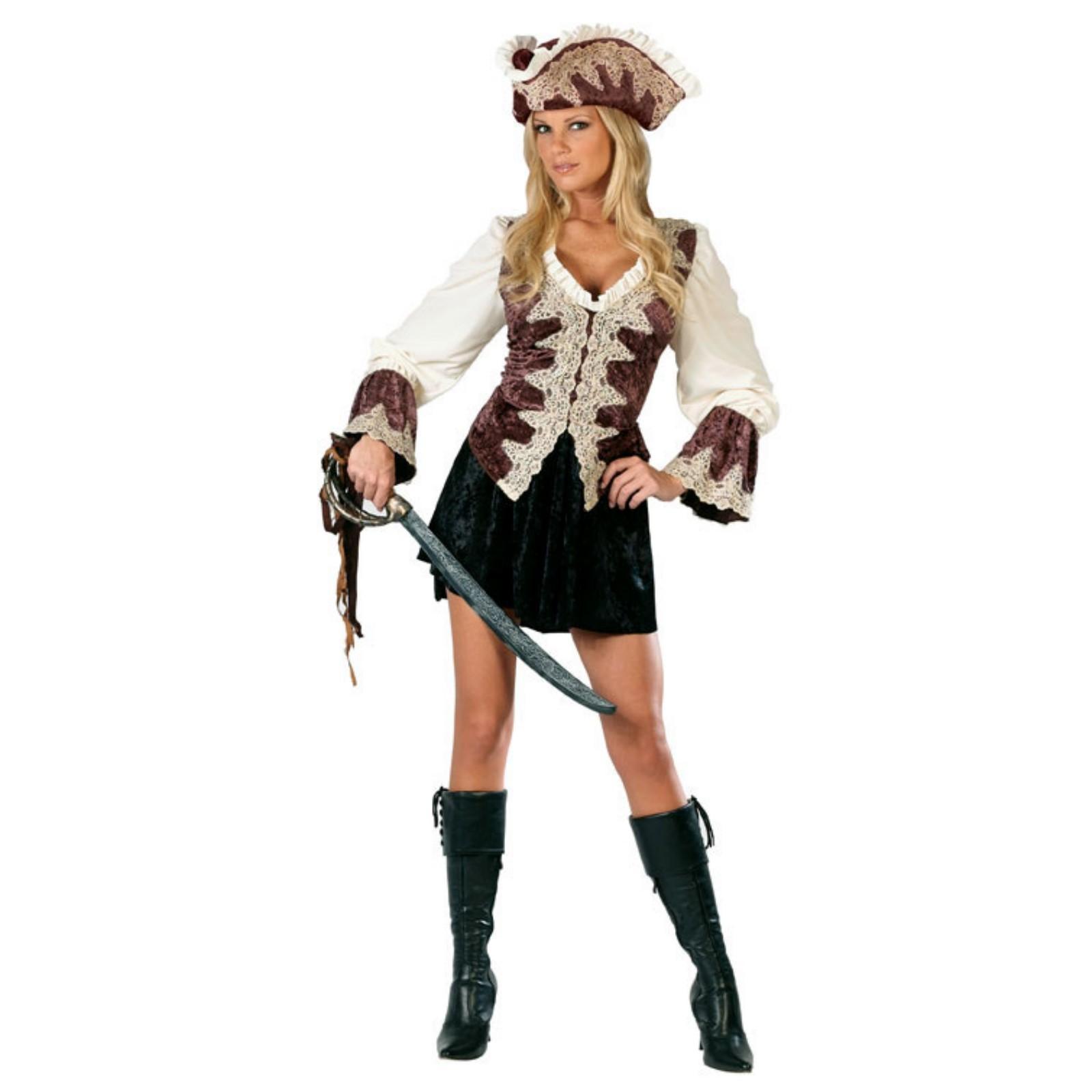 Royal Lady Pirate Adult Costume - M/L (8-14)