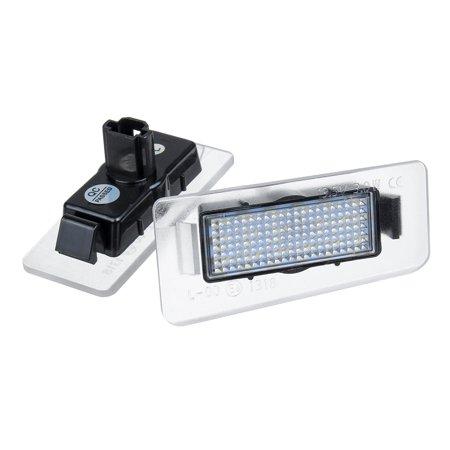 Pair 13.5V White LED Rear License Plate Lights For Hyundai Elantra 2011-2012  - image 5 of 7