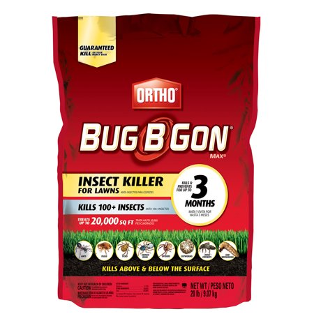 Ortho Bug B Gon MAX Insect Killer for Lawns Granules 20 lbs