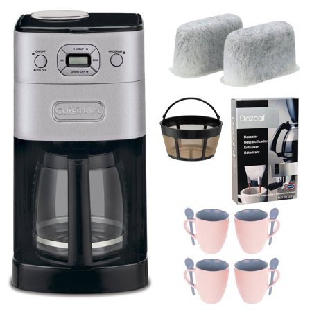 Cuisinart Coffee Maker Automatic Grind And Brew Thermal : Cuisinart DGB-650BC Grind-and-Brew Thermal 10-Cup Automatic Coffeemaker, Brushed Metal ...