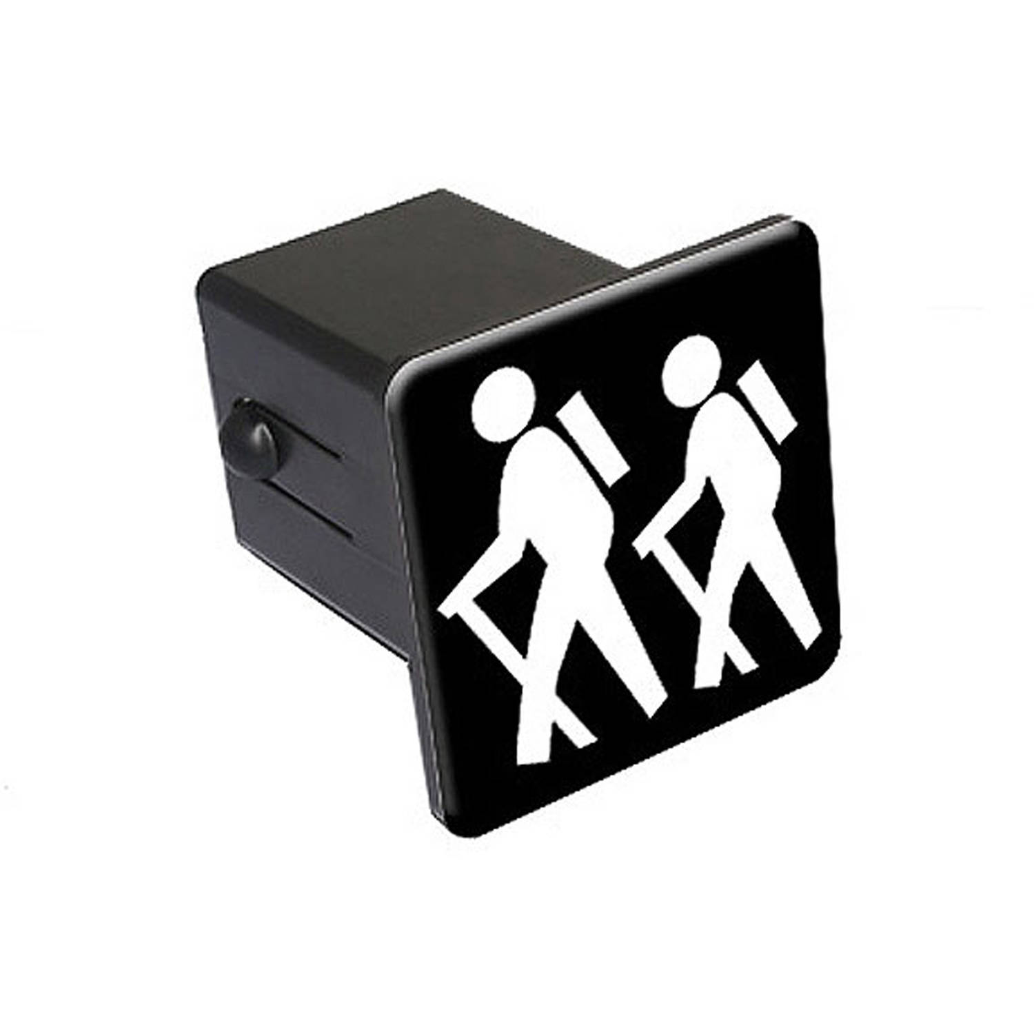 "Hiking, Hikers 2"" Tow Trailer Hitch Cover Plug Insert"