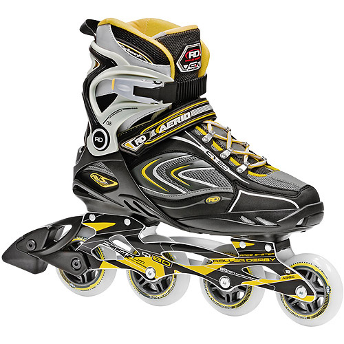 Roller Derby Skate Corp AERIO Q-80 Inline Men's Skates, Gold