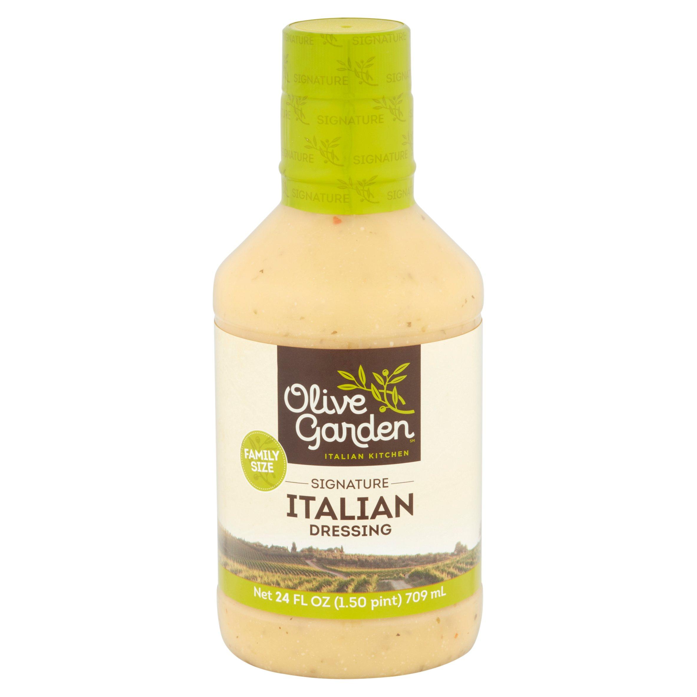 olive garden italian kitchen signature italian dressing 24 fl oz walmartcom - Olive Garden Italian Dressing