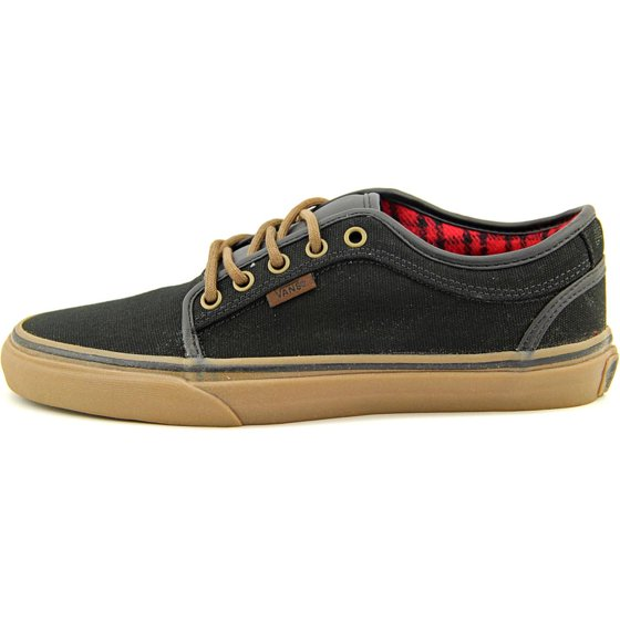 79e8c5fac1ef Vans - Vans Chukka Low Mens Skateboarding Shoes Black  Gum  Flannel ...