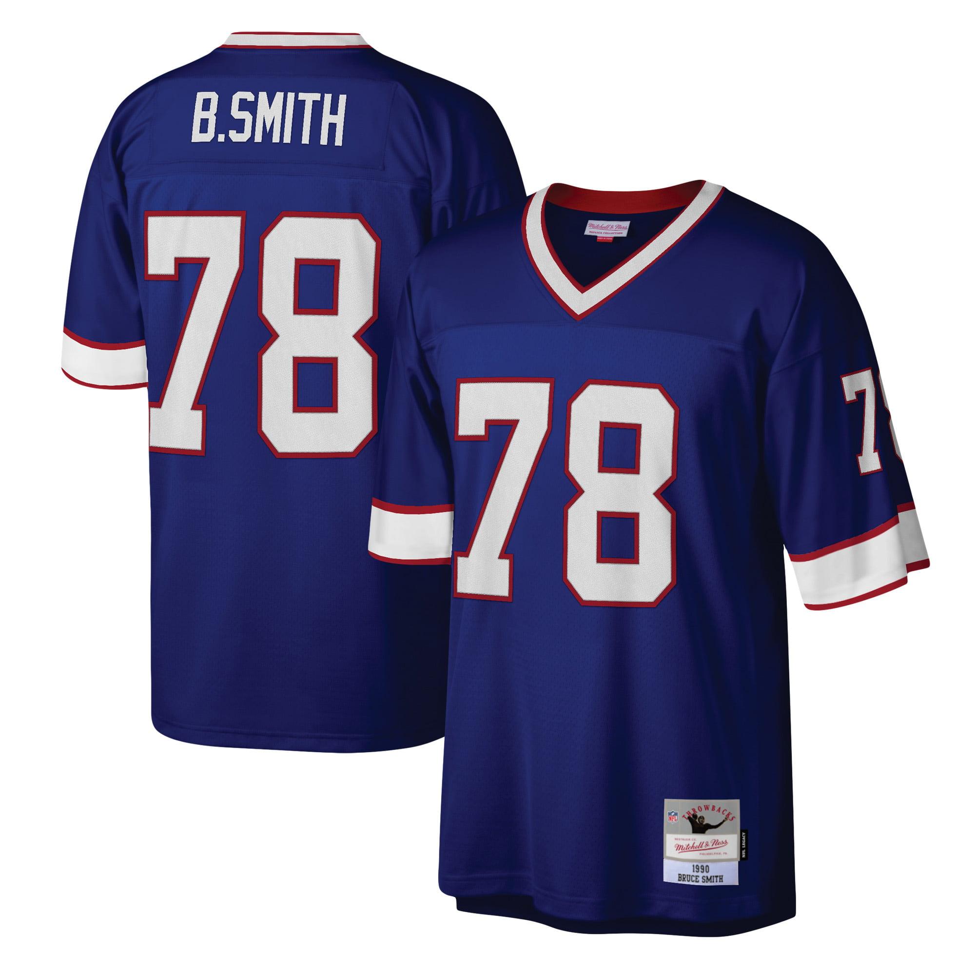 Bruce Smith Buffalo Bills Mitchell & Ness Legacy Replica Jersey - Royal - Walmart.com