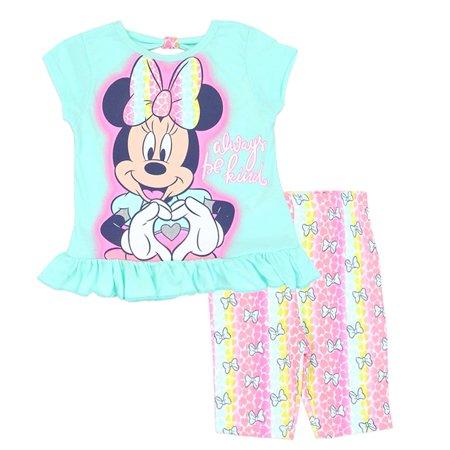 Disney Little Girls Mint Minnie