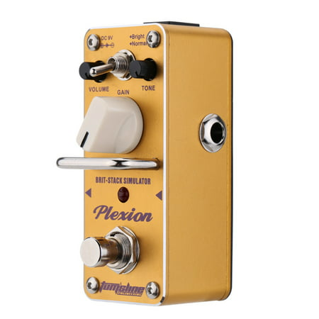 AROMA APN-3 Plexion Brit-stack Simulator Electric Guitar Effect Pedal Mini Single Effect with True Bypass - image 1 of 1