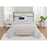 Mainstays Nissi Boho Duvet Cover Set with 2 Decorative Pillows, Multiple Sizes