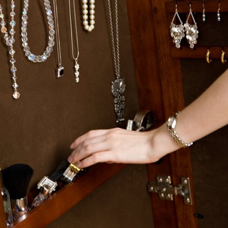 Cheval Jewelry Wardrobe, Cherry