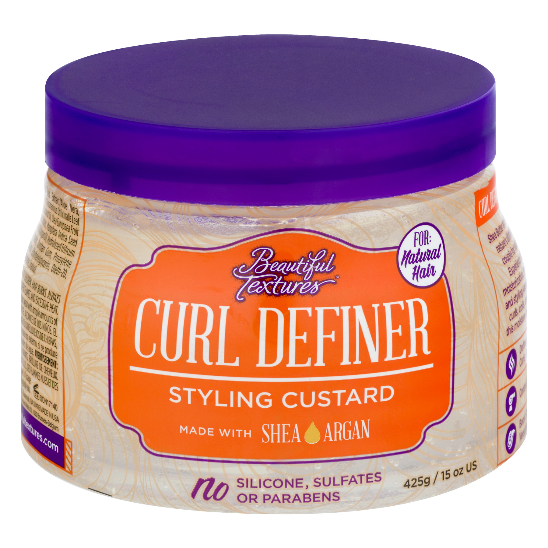 Beautiful Textures® Curl Definer Styling Custard 15 oz. Jar