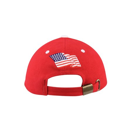 Top Headwear Youth Low Profile USA Flag Heavy Brushed Twil Cap - image 1 of 2