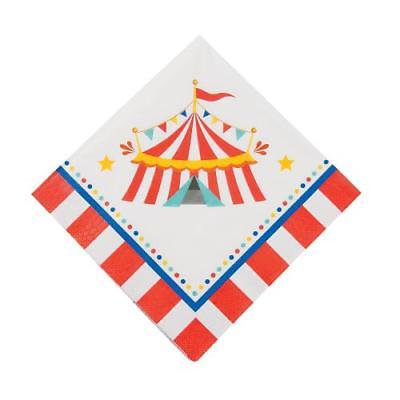 Carnival Luncheon Napkins 16 Piece(s)/PK - Carnival Napkins