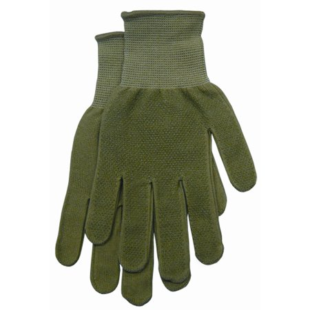Magid Glove G118ts Small Green Women'S Dotted Bamboo Knit Gloves, knit bamboo fiber are moisture By Magid Glove Safety