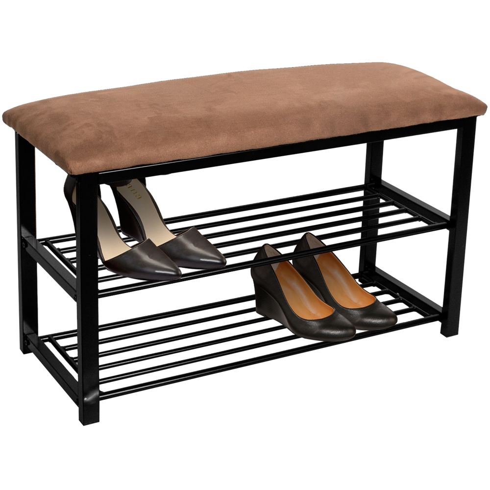 Sorbus Shoe Rack Bench Shoe Organizer Perfect Bench Seat Storage for Hallway Entryway, Mudroom, Closet, Bedroom, etc
