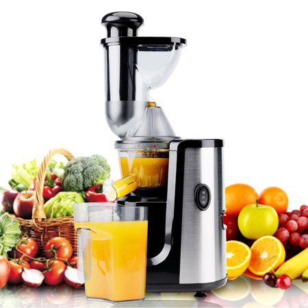 Juicer Hornbill Slow Masticating Juicer Cold Press Juicer Machine,Wide Mouth Whole Masticating Juicer with Juice Jug and Brush, Easy to Clean, Higher Nutrient Fruit Vegetable