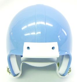 Mini Football Helmet Shell - Columbia Blue Metal Flake