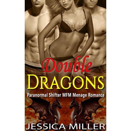 Double Dragons (Paranormal Shifter MFM Menage Romance) - (Best Dragon Shifter Romance Novels)
