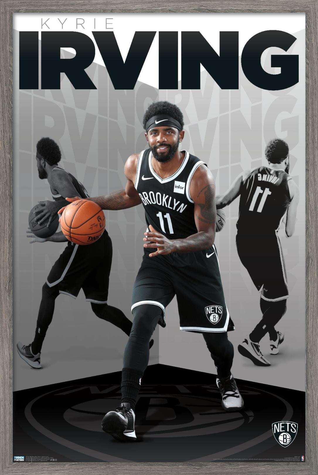 NBA Brooklyn Nets - Kyrie Irving Poster - Walmart.com - Walmart.com