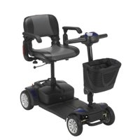Drive Medical Spitfire Ex Travel 4-Wheel Mobility Scooter, 21 Ah Batteries []