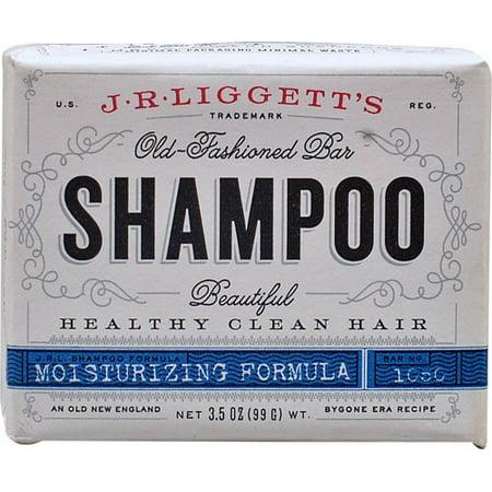J.R.Liggett's Old-Fashioned Moisturizing Formula Bar Shampoo, 3.5 Oz Bar Shampoo Original Formula