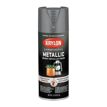 Krylon® Metallic Paint, Dull Aluminum, 11 oz.