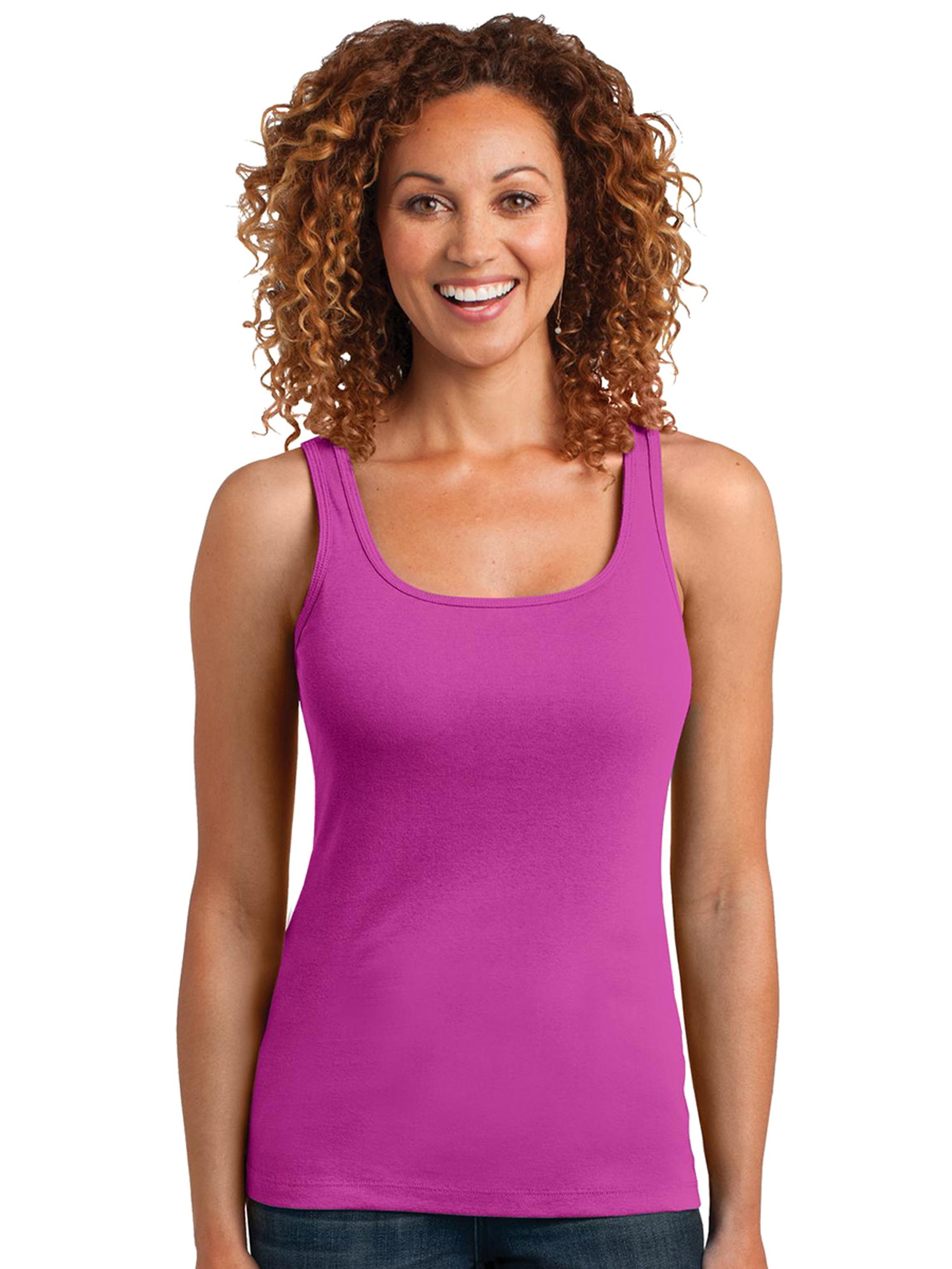 District Made Women's Comfortable Racerback Tank