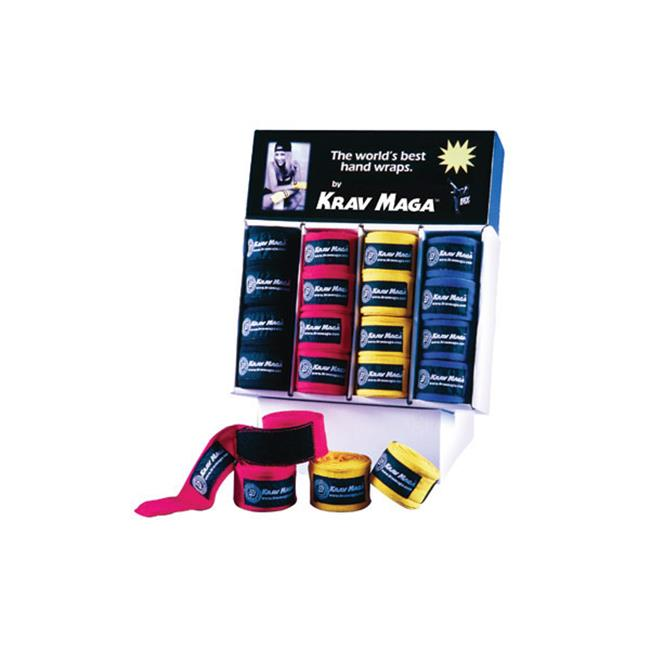 Revgear KM114 RED Krav Maga Hand Wrap 180'' Elastic - Red