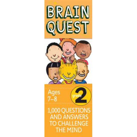 Brain Quest Decks: Brain Quest Grade 2: 1,000 Questions and Answers to Challenge the Mind (Other) - Brain Quest Preschool