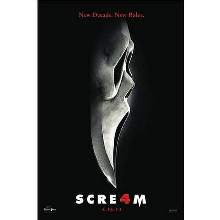 Scream 4 (DVD) - Halloween Horror Nights Scream 4