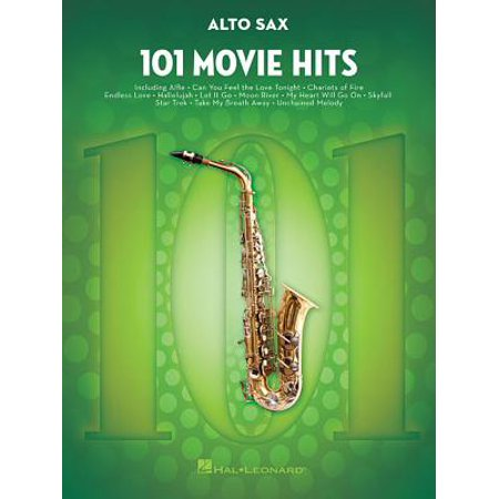 101 Movie Hits for Alto Sax ()
