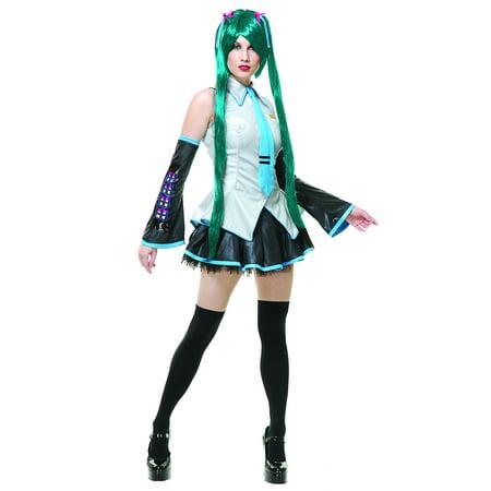 Vocaloid Hatsune Miku - Grey (Hatsune Miku Halloween Wallpaper)