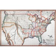 Map Of The United States - Us Map 1820