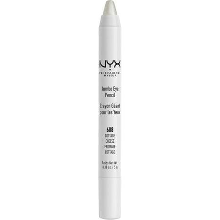 6 Pack - NYX Professional Makeup Jumbo Eye Pencil, Cottage Cheese 0.18 oz